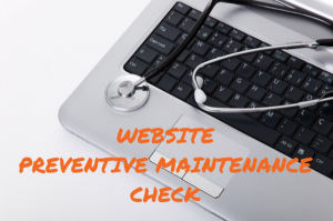 Authority Site : Preventive Maintenance Check !